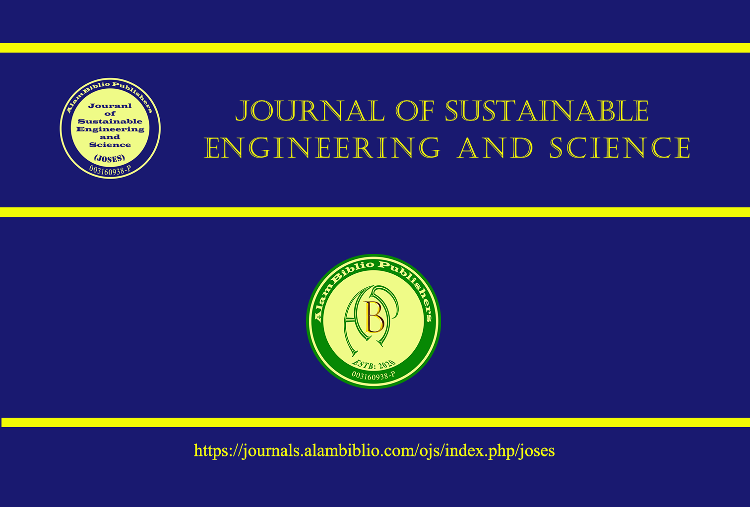 Journal of Sustainable Engineering and Sciences